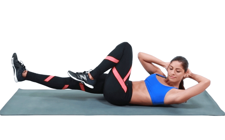 Tips 15 Effective Exercises To Reduce Back Fat Bicycle Crunches