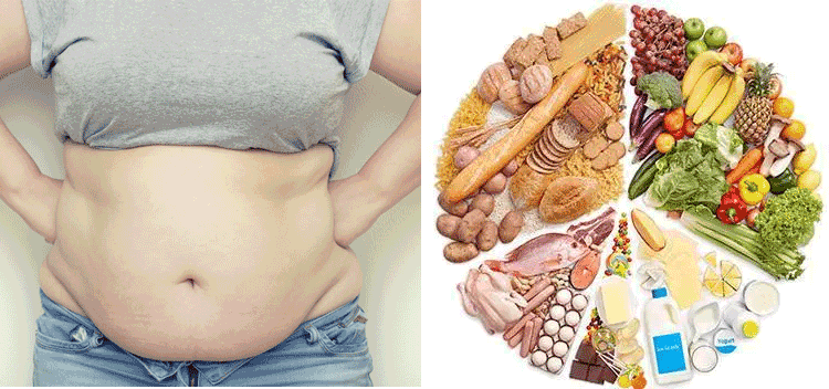 Diet to get rid of excess belly fat