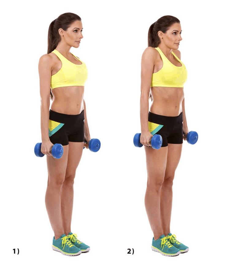 Dumbbell Shoulder Shrugs