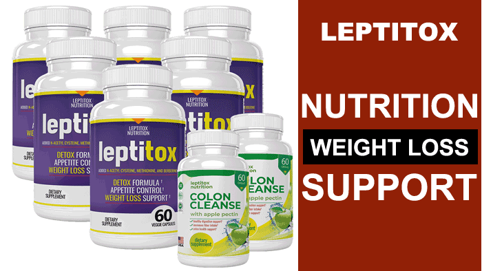 Leptitox  Weight Loss Size