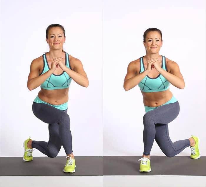 Calories and Sculpt with 6 Moves of Butt Workout In 20 Minute Curtsy Lunge