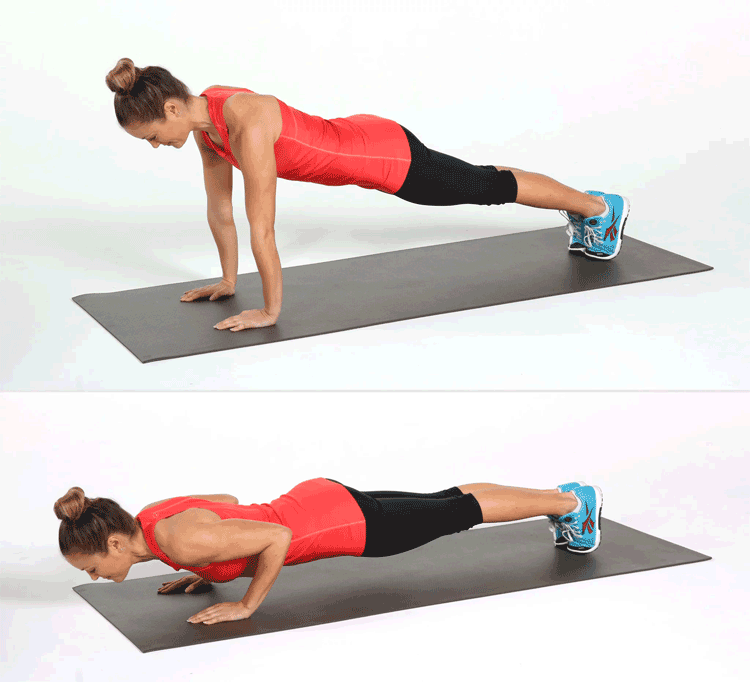 Lose Arm Fat with Push-ups