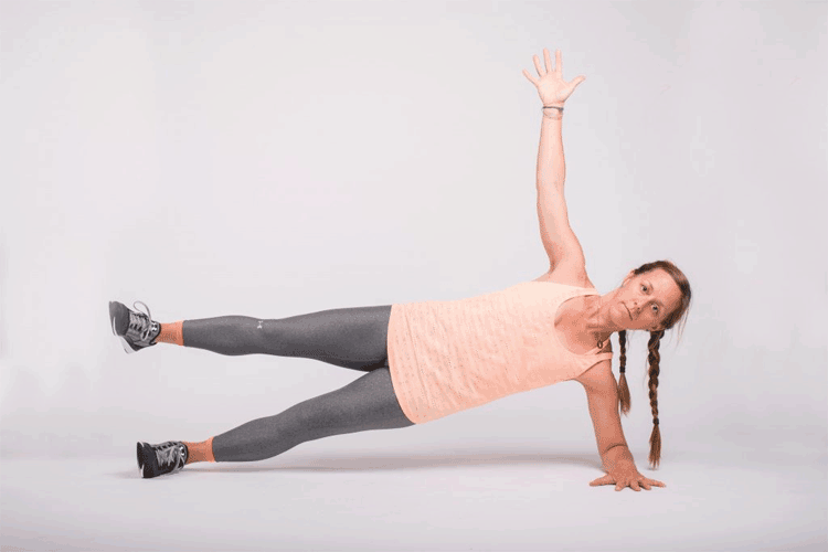 Side Plank Circles