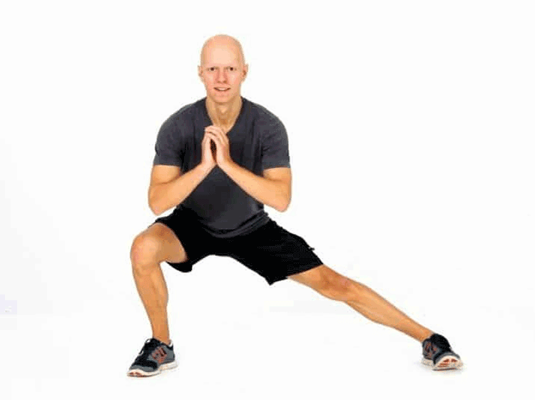 Best 10 Effective Stretching Exercises to Make You As Flexible As a Cat - Side lunge stretch