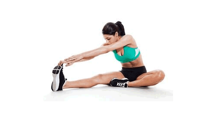The hurdler hamstring stretch