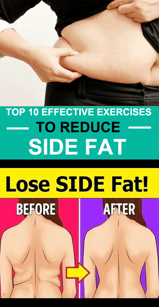 Top 10 Exercises To Reduce Side Fat For Women