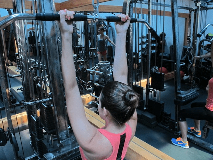 Underhand Cable Pulldown