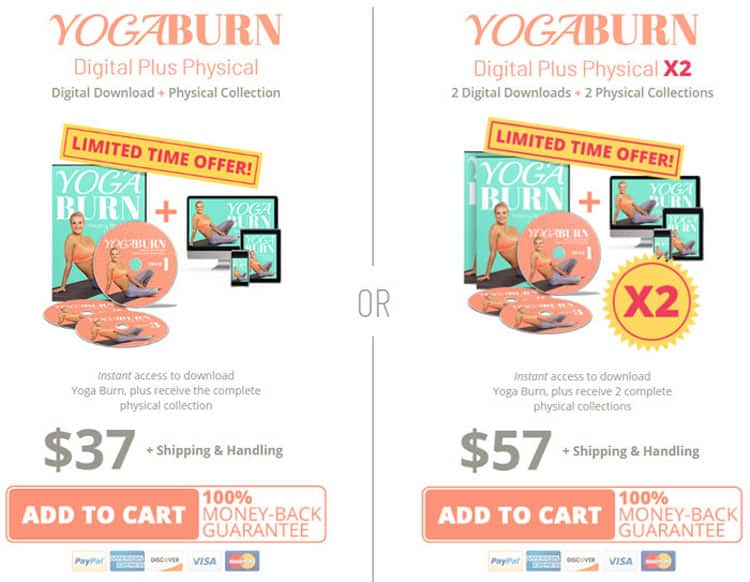 Yoga Burn Fitness System Order