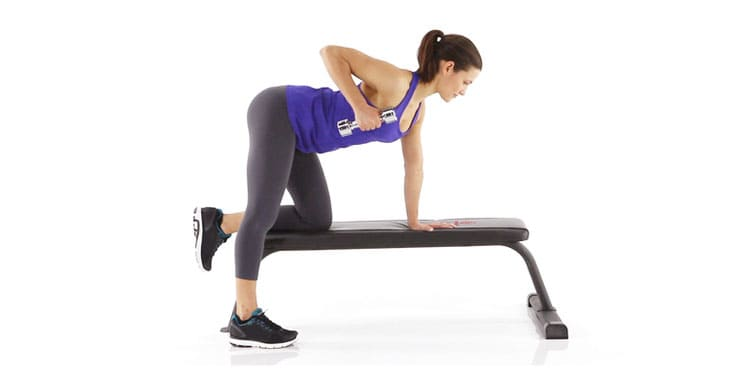 Lose Arm Fat with Bent Over Row