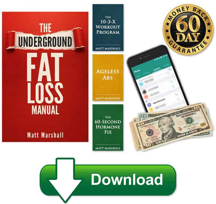 Underground Fat Loss Manual Download