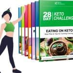 The 28 Day Keto Challenge is just a plan among many that follow the principles of the famous ketogenic diet. This program will help you to enter the ketosis state to burn fat as a source of energy. It let you eat foods that are high in fat and low in carbohydrates. You don't have to give up fried chicken and butter, etc.