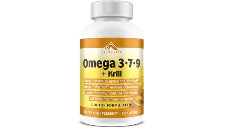 Omega 3-7-9 + Krill Supplement