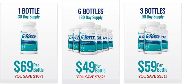 G-Force Teeth Price