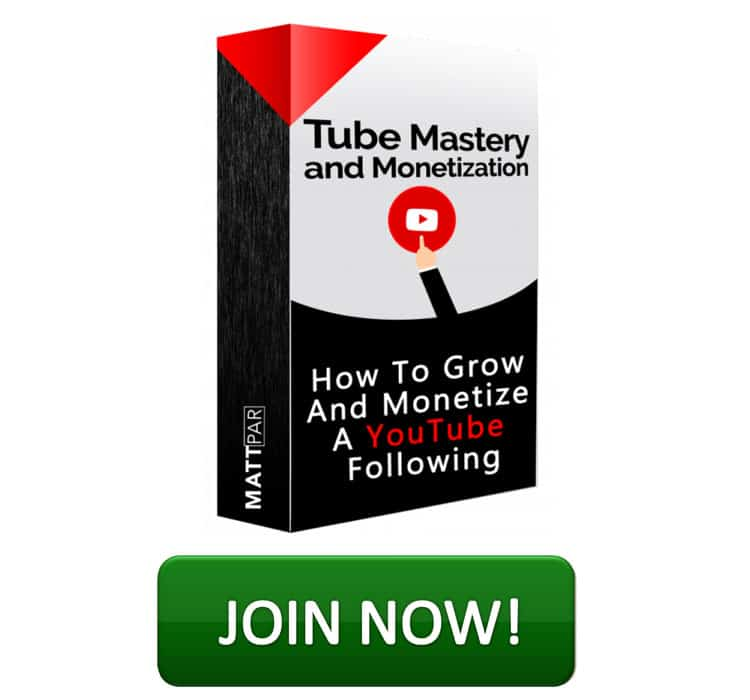 Join Tube Mastery and Monetization