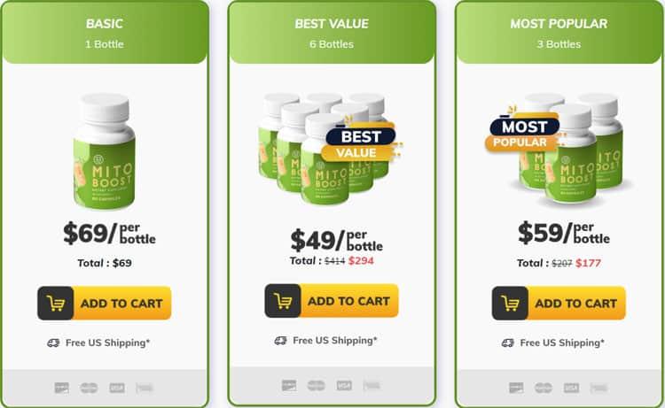 MitoBoost Price
