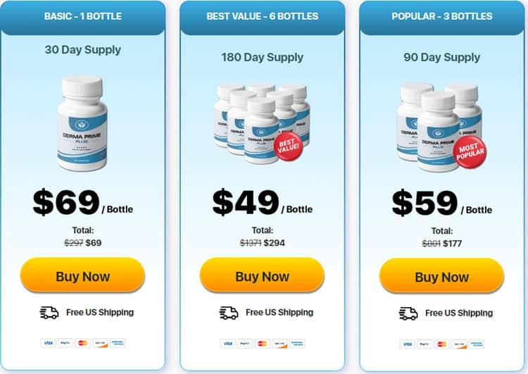 Derma Prime Plus Price
