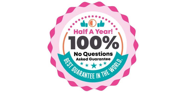 When You Get Eden Beauty® Today, You're Protected By a Half A Year, 100% Money-Back Guarantee