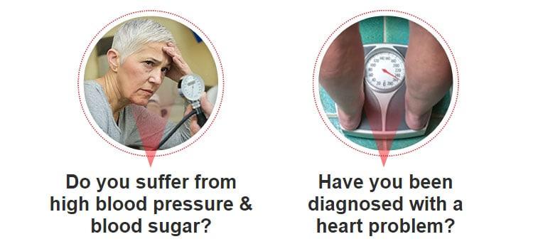 high blood pressure and blood sugar