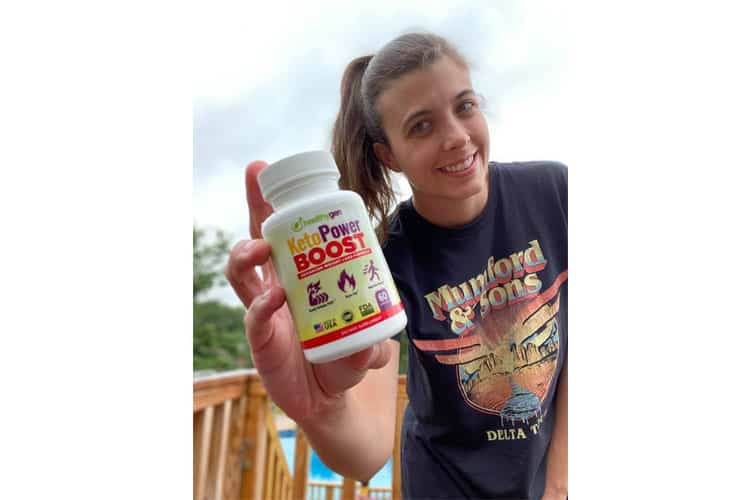 KetoPower Boost  is the right amount of energy I needed to help me get started in keto