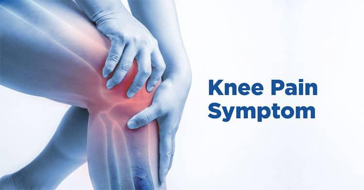 Knee pain symptoms