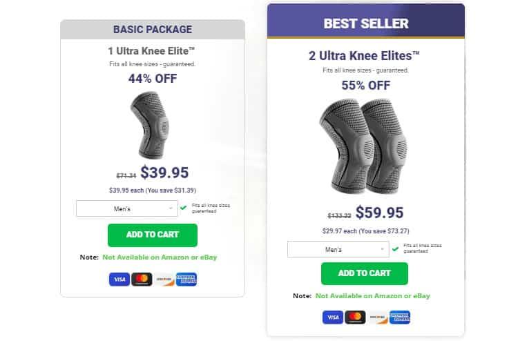 Ultra Knee Elite Price