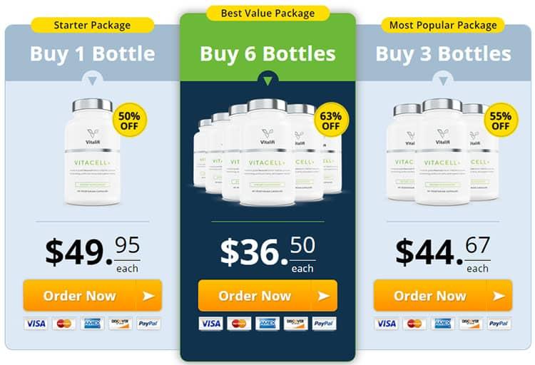 VitaCell Plus Price