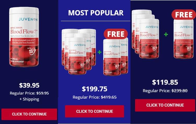 Blood Flow 7 Price