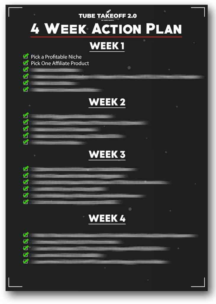 4 Week Action Plan