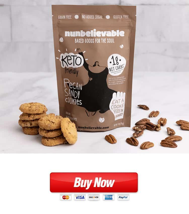 Nunbelievable Pecan Sandy Cookies Buy From TheHealthMags