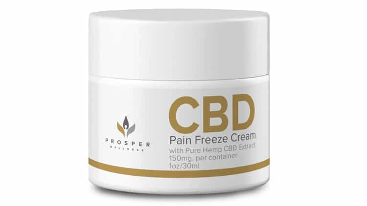 CBD Pain Freeze Cream
